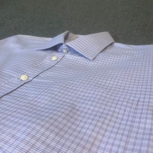 Thomas Pink Traveller Classic Purple Striped Shirt